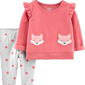 Child of Mine by Carter's Baby Girl Set New Pink